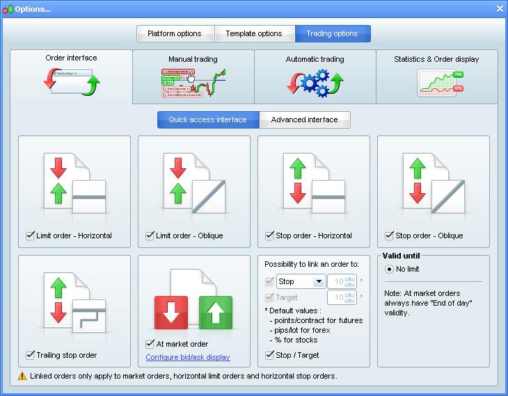 Multi option general trading