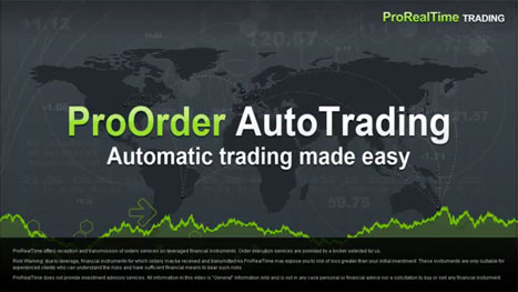 ProOrder - Automatic trading made easy